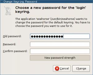 change-keyring-password